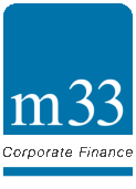 M33 Corporate Finance Logo & Home Button