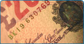 Debt Finance image of £20 note